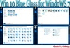 Win 10 Blue Glass for Windows 7