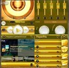 Shine Gold PlayerPro skin
